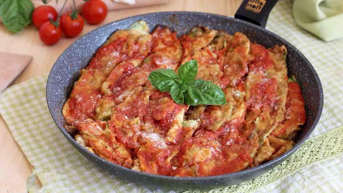 Courgettes al pomodoro